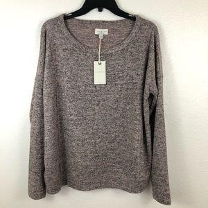 Lucky Brand Purple Sweater Large